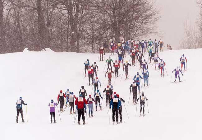 cross country ski marathon